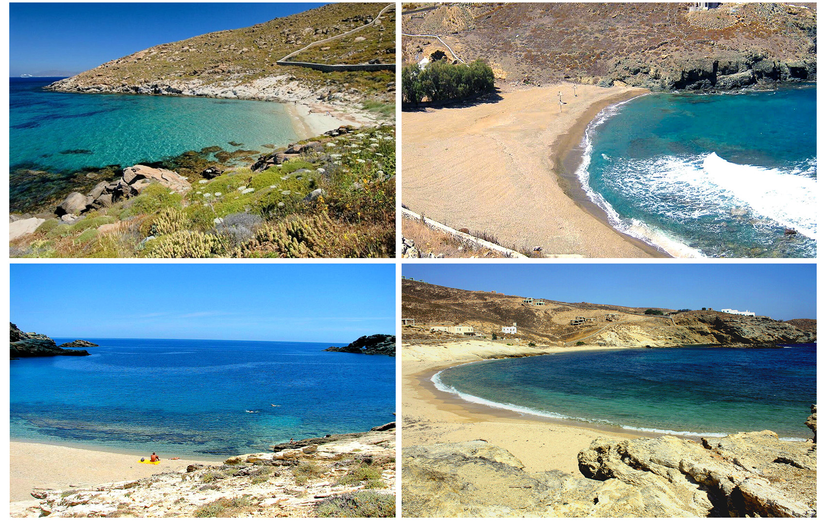 Discover the secret Mykonos: 4 + 1 secluded beaches