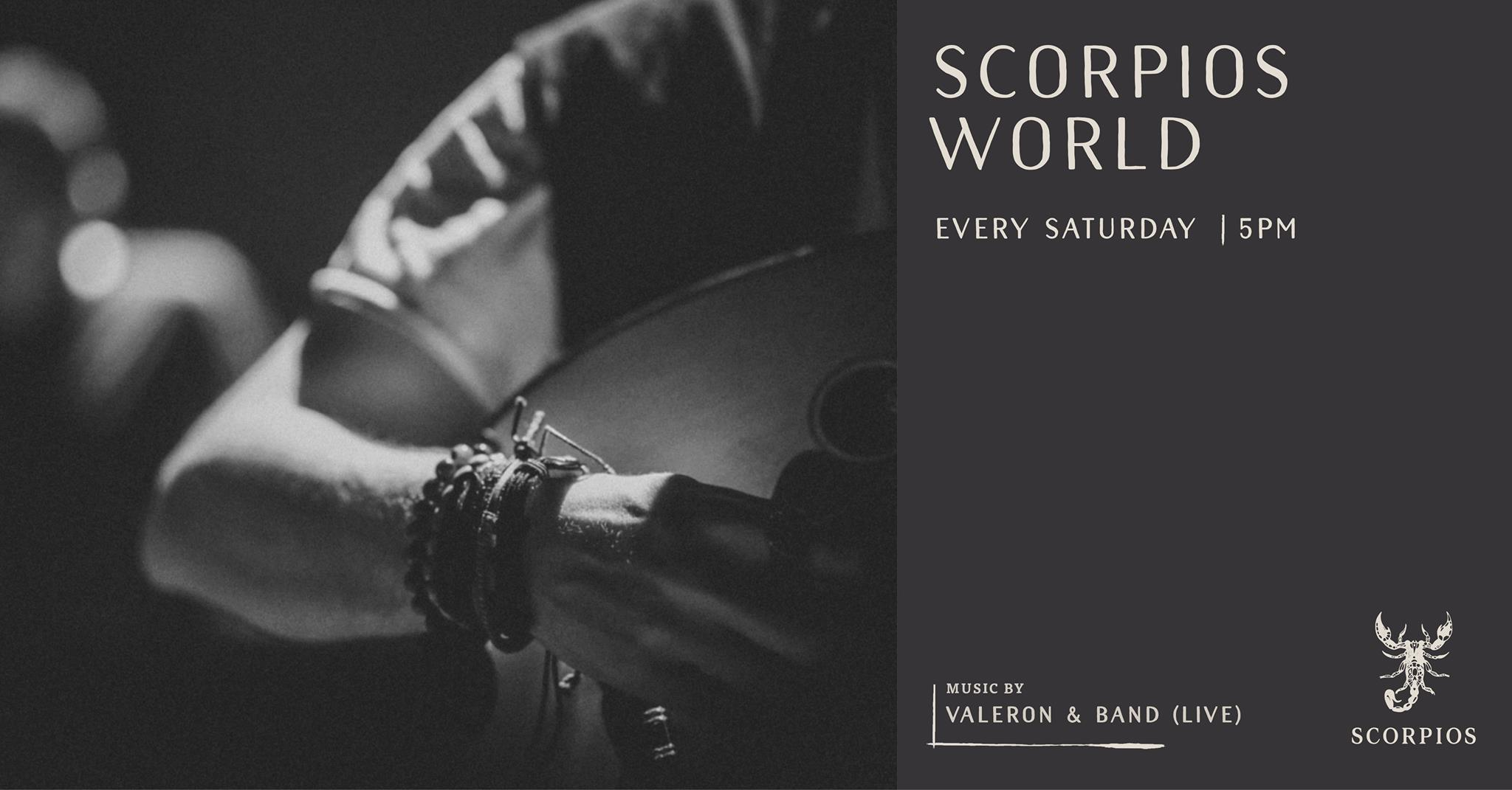 """SCORPIOS"" WORLD WITH VALERON & BAND (LIVE)"