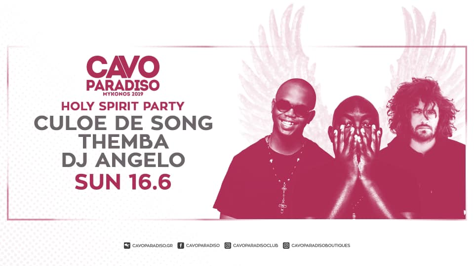 """CAVO PARADISO"" HOLY SPIRIT PARTY"