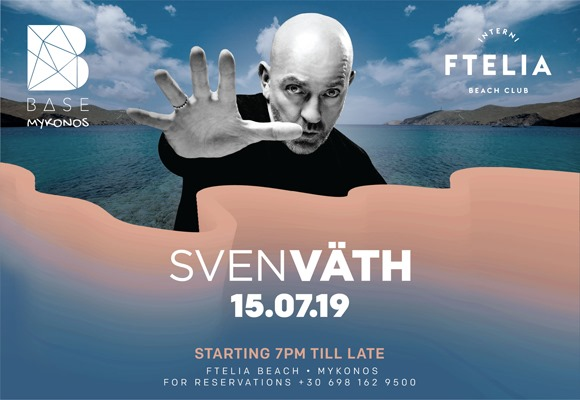 """FTELIA BEACH CLUB"" w/ SVEN VATH"